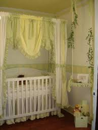 yellow white and green gingham checks nursery bedding pictures