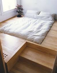Floor Bed Frame On The Floor Bed Frame With Regard To Best Ideas Pinterest Beds