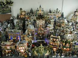372 best christmas villages images on pinterest christmas