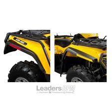 can am atv new oem mudguard fender flair extension guard mud kit