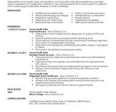hha resume mesmerizing health care resume skills for your hha