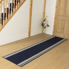 Navy Blue Runner Rug Blue Hallway Carpet Runner Key Free Delivery Plus A No