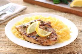 Chicken Piccata Cooking Light Healthy Chicken Piccata With Spaghetti Squash Recipe Hungry