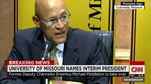 university of missouri names interim president cnn video