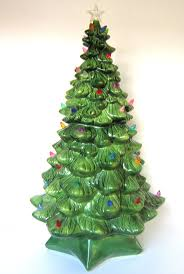 Large Ceramic Christmas Tree 79 Best Ceramic Christmas Trees Images On Pinterest Ceramic