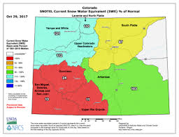 colorado snowpack map snowpack early snowpack data coyote gulch