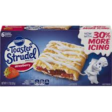 Toaster Strudel Designs Breakfast Food