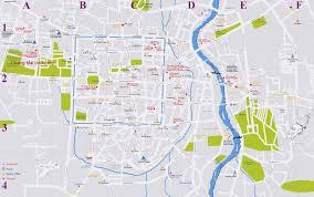 chambre d hote chiang mai cartes de chiang mai cartes typographiques détaillées de chiang