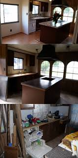 Mobile Home Interior Paneling Mobile Home Makeover Before And After Rehab Pictures
