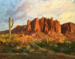red rock paintings arizona new mexico utah landscape oil paintings