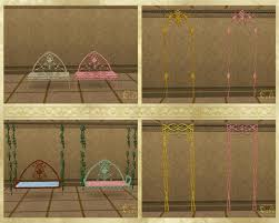 Elvish Home Decor Mod The Sims Elven Set Part Ii Buy Mode