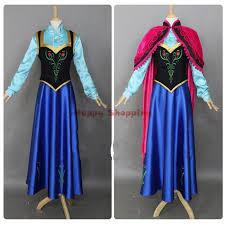 Anna Costume Custom Anna Frozen Costumes Fatasia Princess Anna Costume Cosplay