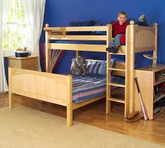 Twin Full Bunk Bed Plans Free by Bunk Beds Easy To Build Bunk Beds Full Size Loft Bed With Stairs
