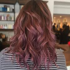 this trending chocolate mauve shade is perfect for brunettes