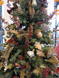 themed christmas trees creating a woodland themed christmas tree balsam hill artificial