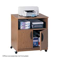 safco mobile printer stand