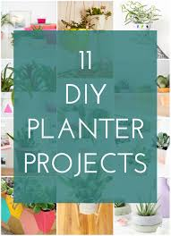 11 diy planter projects for spring the crafted life