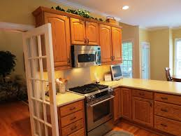 kitchen with painted cabinets the benefits of an painting oak cabinets u2014 derektime design