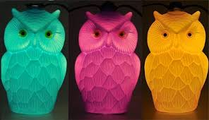 Owl Patio Lights Bloomers Owl C 7 Patio Lights