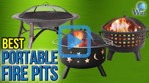 Portable Fire Pit Walmart Top 8 Portable Fire Pits Of 2017 Video Review