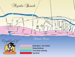 Intracoastal Waterway Map Myrtle Beach Pet Friendly Maps