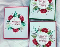 christmas card set christmas card pack 12 cards