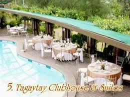 cheap wedding packages tagaytay weddings top 5 tagaytay wedding venues
