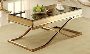 brass coffee tables amazon com