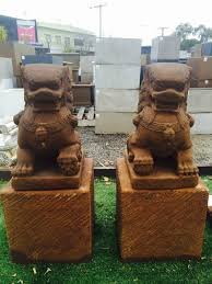 pictures of foo dogs balinese foo dogs set statue pair ascot vale garden centre