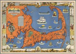 cape cod barnstable county mass inc 1639 drawn by c w