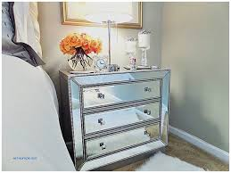Small Mirrored Nightstand Storage Benches And Nightstands Unique Mirrored Nightstand Home