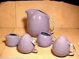 s kitchenware parade set of 5 vintage pottery parade kitchenware ebay