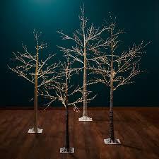 buy lewis pre lit birch twig tree copper 4ft lewis