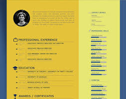 resume free beautiful resume cv template for graphic designer