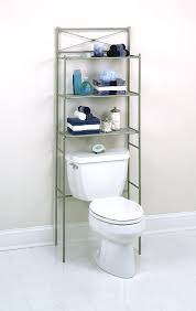 Bathroom Shelves Ideas Simple Bathroom Over The Toilet Shelf With Cabinet Laredoreads