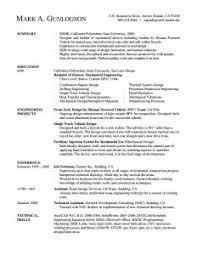 good resume layout keys to a good resume by examples of a great