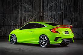 car honda civic backgrrounds download download wallpaper honda civic concept green 2015 hd background