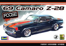 chip foose camaro nov142333 foose 69 camaro z28 1 12 scale model kit previews