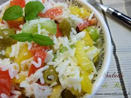 cuisine salade de riz salade de riz salade composee amour de cuisine