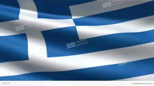 Greece Flag Colors Greece Flag Stock Animation 1131171