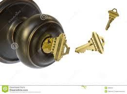 door knob and keys stock image image of door keys entry 3828537