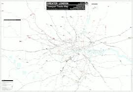 map of the underground in detailled transport map track depot