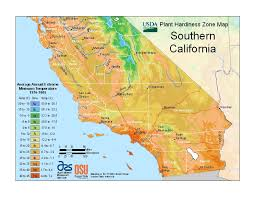 Zone Gardens - usda plant hardiness zone map los angeles is zone 10b pine tree