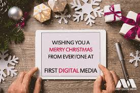 merry and a happy new year digital media