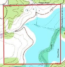 lipan map topo 268 acre gorgeous property 801 road lipan