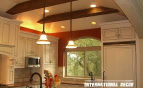 Lighting Idea For Kitchen Ceiling Wonderful Kitchen Lights Ceiling Ideas Home Designs Led