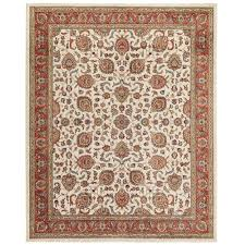 home decorators collection courtyard cream 8 ft x 10 ft area rug
