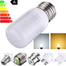 Spotlight Chandelier 27 Led Light Bulb E27 3 5w 5730 Smd With Frosted Cover White