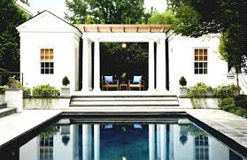 pool house plans with living quarters home office