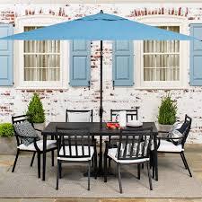 Fairmont Dining Room Sets Fairmont Steel Rectangular Patio Dining Table Threshold U0026 153 Ebay